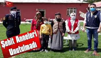 Kars'ta Şehit Anneleri Unutulmadı