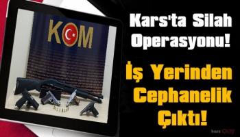 Kars'ta Silah Operasyonu!