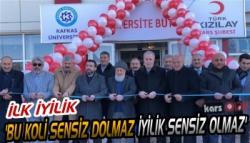 Kars'ta Türk Kızılay'ı Üniversite Butik Evi Açıldı