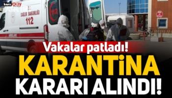 Kars'ta Vakalar Patladı, İki Köye Daha Giriş Çıkışlar Yasaklandı!