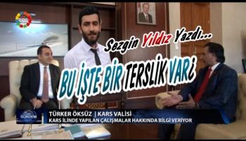 Kars Valisi Türker Öksüz, projelerini Karslılara değil İzmirlilere anlattı!