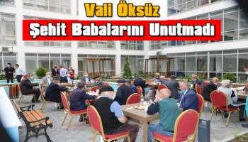 Kars Valisi Türker Öksüz, Babalar Gününde şehit babalarını ziyaret etti