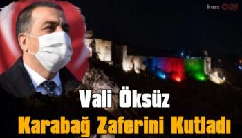 Kars Valisi Türker Öksüz, Karabağ Zaferini Kutladı!
