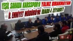 Kars36 Spor'dan Emniyet Müdürü Yavuz Sağdıç'a Ziyaret