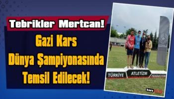 Karslı Atlet Mertcan Karabağ İşitme Engelliler Koşusunda  Türkiye 2.si Oldu!