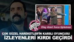 Karslı Oyuncu Gürhan Altundaşar'dan Kahkaya Boğan Tipleme