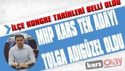 MHP Kars İlçe Kongre Tarihleri Belli Oldu