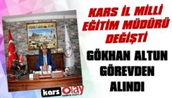 Milli Eğitim Müdürü Gökhan Altun Görevden Alındı