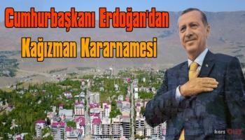 Resmi Gazete'de Yayımlandı, Kağızman Doğalgaza Kavuşuyor!