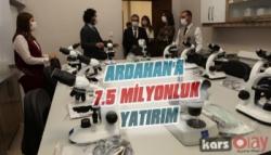 SERKA'dan Ardahan'a, 7.5 Milyonluk, Yatırım