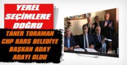 Taner Toraman CHP'den Kars Belediye Başkan Aday Adayı Oldu