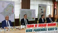 Tarım ve Orman Bakanı Bekir Pakdemirli Kars'ta