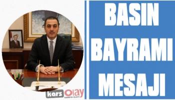 Vali Öksüz'den Basın Bayramı Mesajı