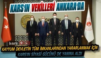 Vali Öksüz ve Kars Siyasetinden Ankara Çıkarması