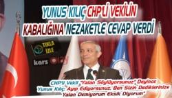 Yunus Kılıç İle CHP'li Vekil Arasında Gergin Anlar