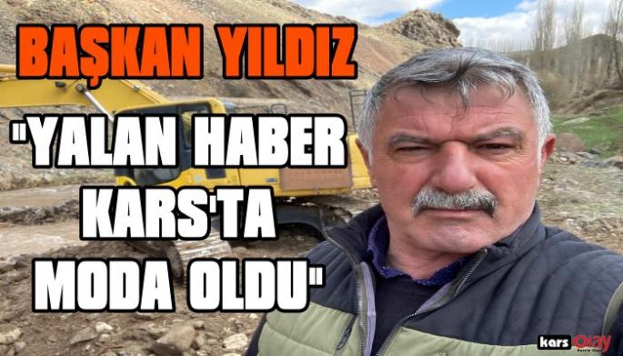 Kağızman Belediye Başkanı Yıldız; Açtı Ağzını, Yumdu Gözünü!