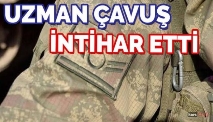Kağızman'da Uzman Çavuş Silahla İntihar Etti