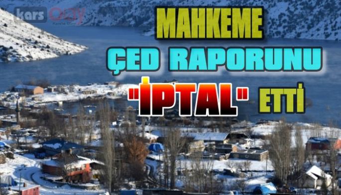 Karakurt Barajı ÇED raporu İptal edildi.