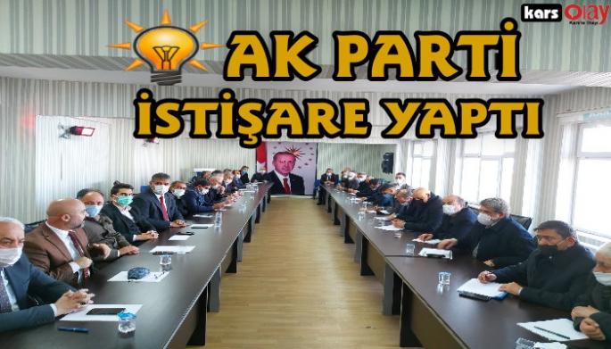 Kars AK Parti'de istişare toplantısı yapıldı