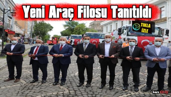 Kars Belediyesi Araç Filosuna Yeni Araçlar Ekledi