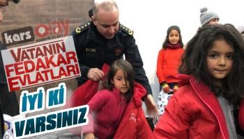 Kars Polisi Çocukları Mutlu Ediyor!