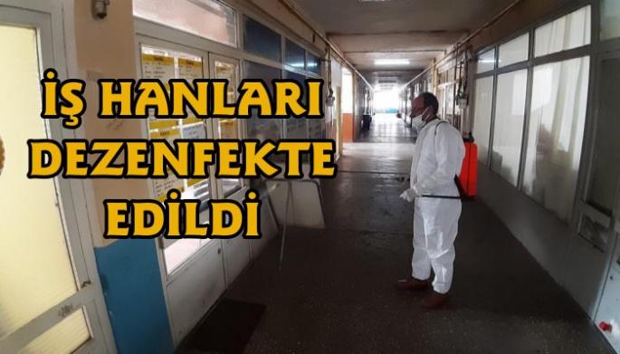 Kars'ta Koronavirüs Dezenfekte Çalışması