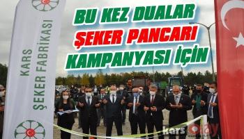 Kars'ta Şeker Pancarı Alım Kampanyası Başladı