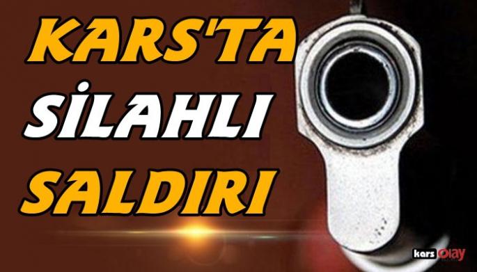 Kars'ta silahlı kavga, 2 yaralı!