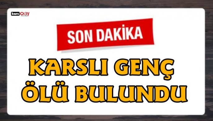 KARSLI GENÇ DEREDE ÖLÜ BULUNDU!