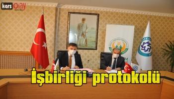 KAÜ ile Tarım Kredi Kooperatifleri Genel Müdürlüğü Arasında İşbirliği Protokolü İmzalandı