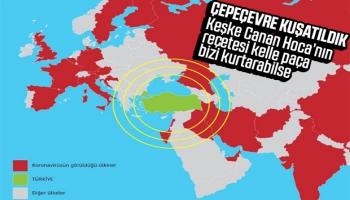 Koronavirüs Vakaları Türkiye'nin Çevresini Sarıyor