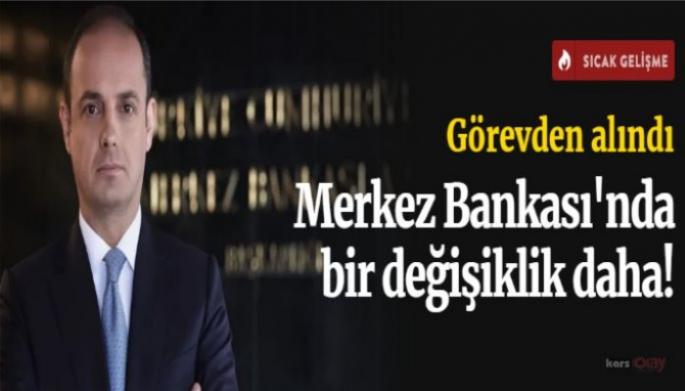 Merkez Bankası'nda bir değişiklik daha!