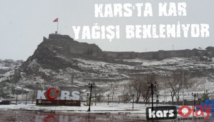 Meteoroloji'den Kars'a Kar Yağışı Uyarısı!