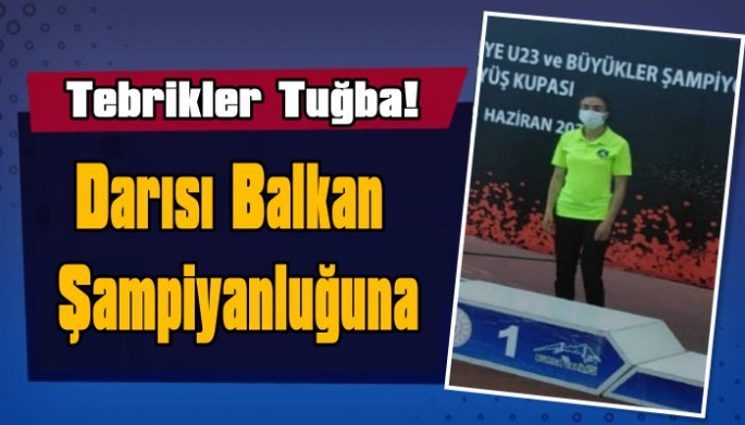 Milli Atlet Tuğba Toptaş Türkiye Şampiyonu Oldu!