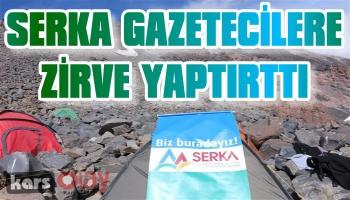 SERKA Gazetecilere Zirve Yaptırttı