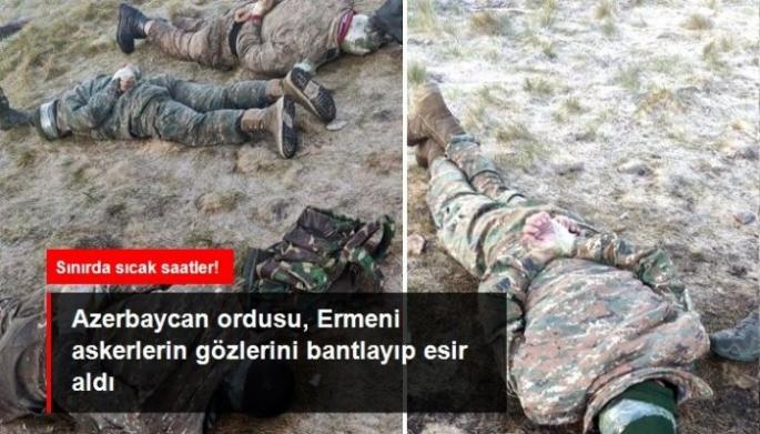 Sınırda Mayın Döşeyen Ermeni Askerler Rehin Alındı!