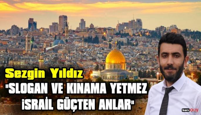 Sivil Toplum Hareketi İl Başkanı Sezgin Yıldız'dan, İsrail'in Mescid-i Aksa saldırısına Kınama
