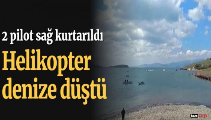Son dakika... İzmir'de askeri helikopter düştü