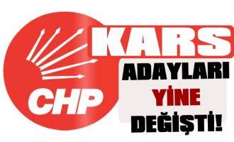 Kars CHP'nin Adayları Yine Değişti