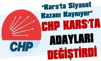 Kars'ta İlk Aday Değişikliği  CHP'de Oldu
