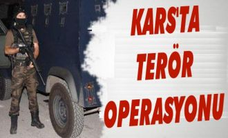 Kars'ta PKK/KCK/DG-H Operasyonu: 5 Kişi Tutuklandı