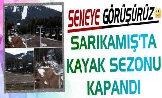 Sarıkamış Kayak Tesisileri Sezonu Kapattı