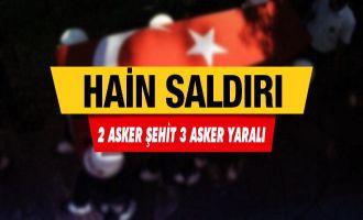 Son Dakika... Kars'ta mayın patladı: 2 asker şehit 3 asker yaralı!