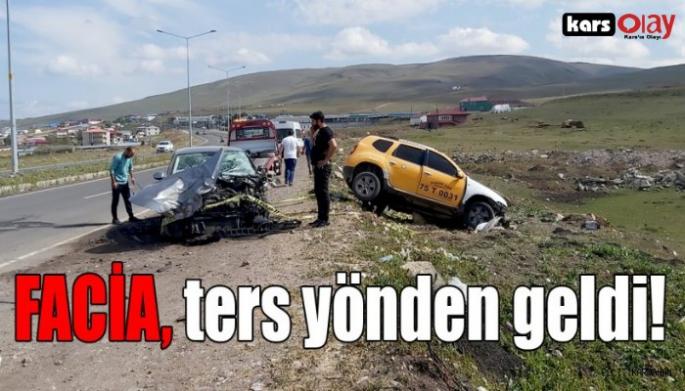 Trafik Kazası; 1 Ölü, 1 Yaralı