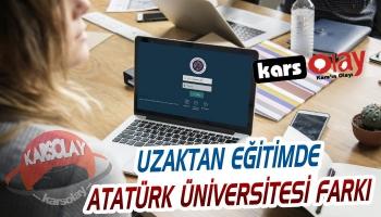 Uzaktan Eğitimde Atatürk Üniversitesi Farkı