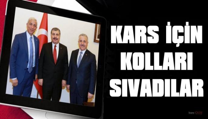 Vekillerden, Kars'a şehir hastanesi ve doktor talebi