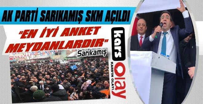 AK Parti Sarıkamış Seçim Koordinasyon Merkezi Açıldı