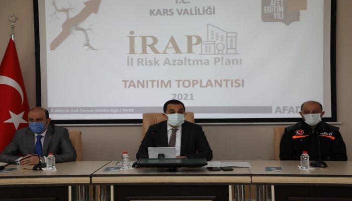 İl Afet Risk Azaltma Plan Toplantısı Yapıldı